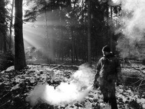Jan mit Nebelmaschine