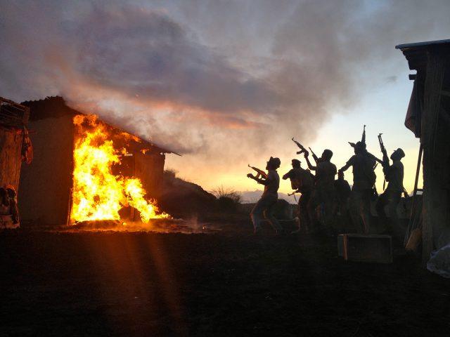 Studentenfilm SFX Spezialeffekte Feuer Pyrotechnik